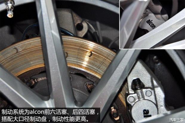 英菲尼迪FX35刹车改装alcon六活塞